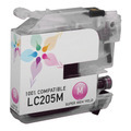 Compatible LC205M Super HY Magenta Ink for Brother