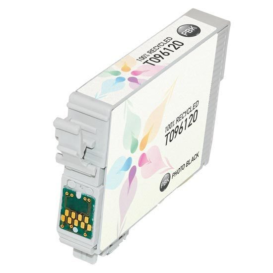 Epson Remanufactured T096120 (T0961) Photo Black Inkjet Cartridge
