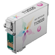 Remanufactured Epson T125320 (T1253) Standard Yield Magenta Ink Cartridges