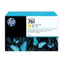 Original HP 761 Yellow Ink Cartridge in Retail Packaging (CM992A)
