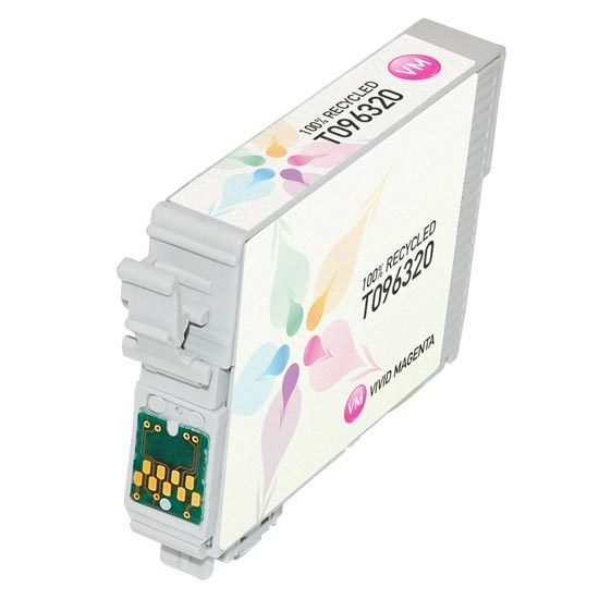 Epson Remanufactured T096320 (T0963) Vivid Magenta Inkjet Cartridge