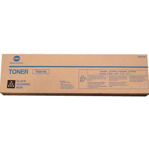 TN611K Black Toner for Konica Minolta