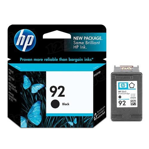 HP 92 Black Original Ink Cartridge C9362WN