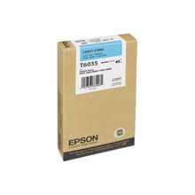Original Epson T603500 Light Cyan 220 ml Inkjet Cartridge (T6035)