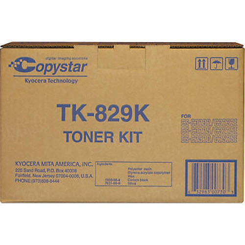TK-829K Black Toner for Copystar