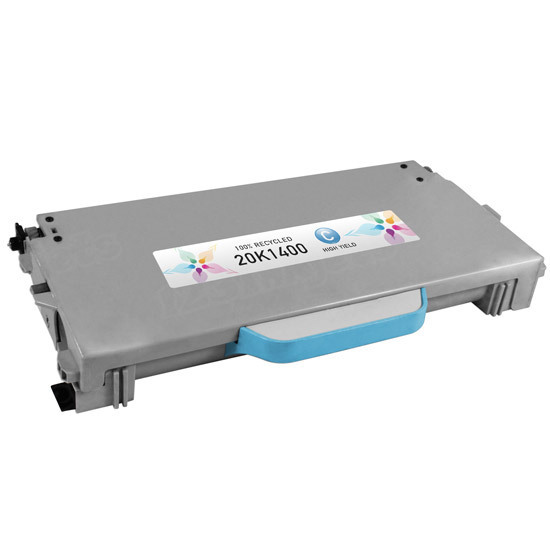 Remanufactured 20K1400 High Yield Cyan Toner for Lexmark