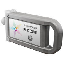Compatible Canon PFI-703BK Dye Black Ink Cartridges