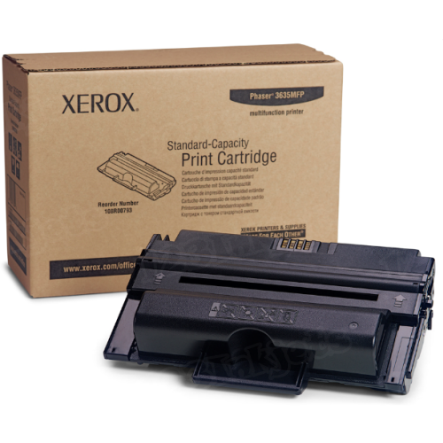 Xerox 108R00793 (108R793) Black OEM Toner Cartridge