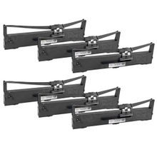 Compatible Epson S015329 Black 6 Pack Printer Ribbons