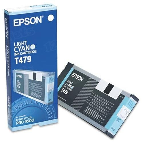 Epson T479011 Light Cyan OEM Ink Cartridge