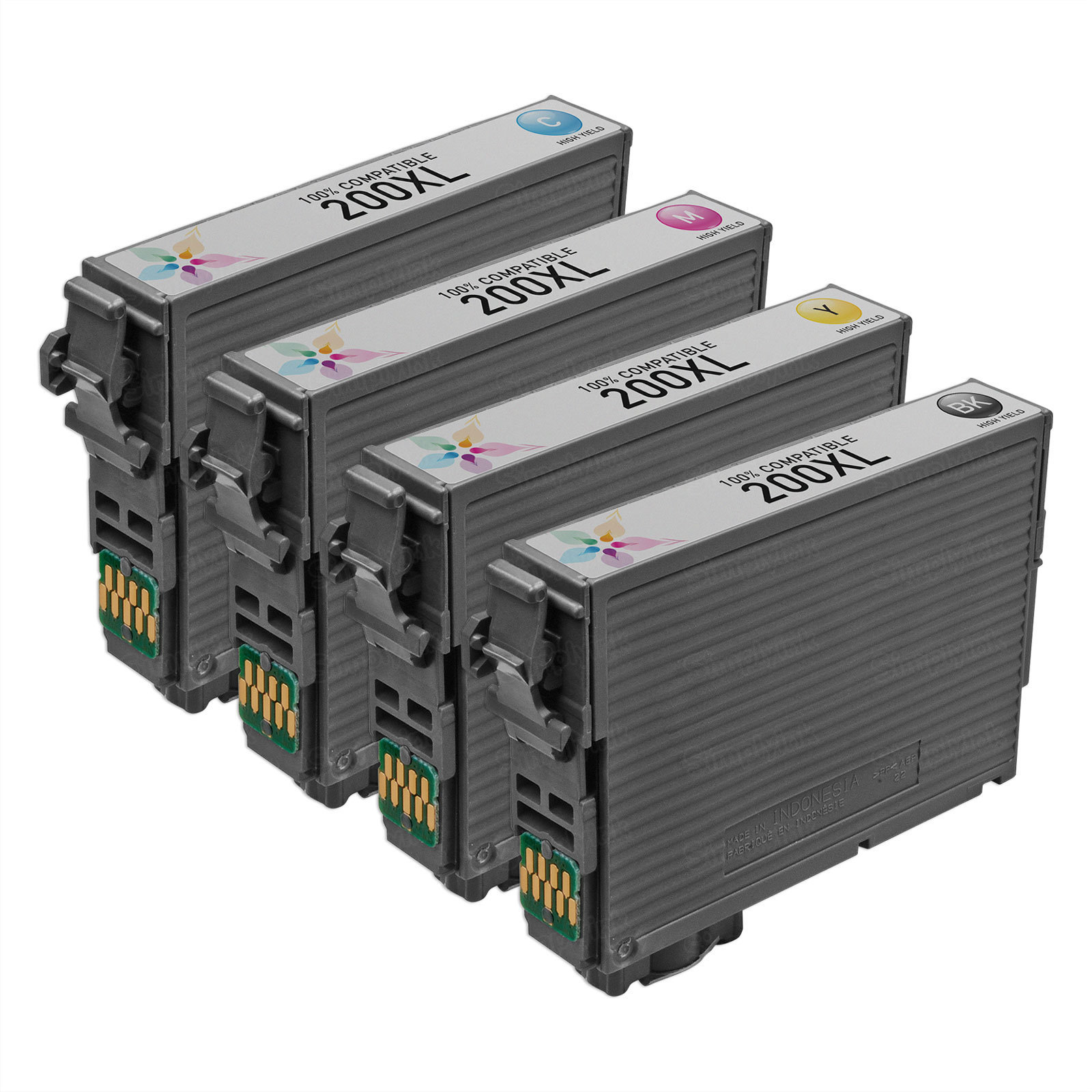 Remanufactured 200XL 4 Pack for Epson