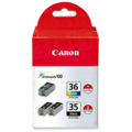 Canon PGI35 & CLI36 OEM Ink Cartridge 3PK