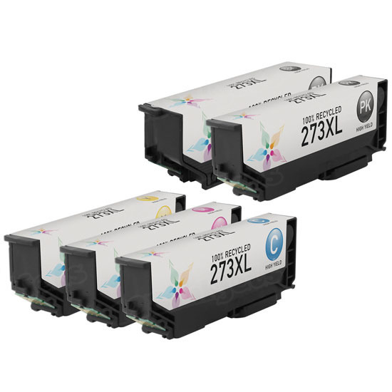 Remanufactured 273XL 5 Pack for Epson