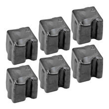 Compatible Xerox Set of 6 Black 108R00664 Solid Ink Blocks for the WorkCentre C2424