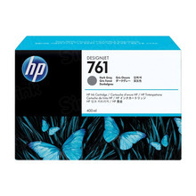 Original HP 761 Dark Gray Ink Cartridge in Retail Packaging (CM996A)