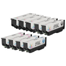 Remanufactured 11 Pack for Epson 273XL: 3 Black & 2 each of Cyan, Magenta, Yellow, Photo Black