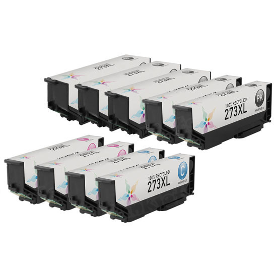 Remanufactured 273XL 11 Pack for Epson