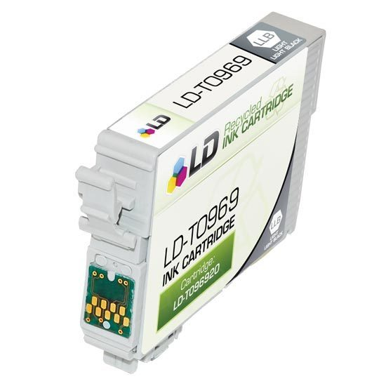Epson Remanufactured T096920 (T0969) Light Light Black Inkjet Cartridge