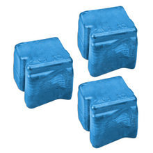 Compatible Xerox Set of 3 Cyan 108R00660 Solid Ink Blocks for the WorkCentre C2424