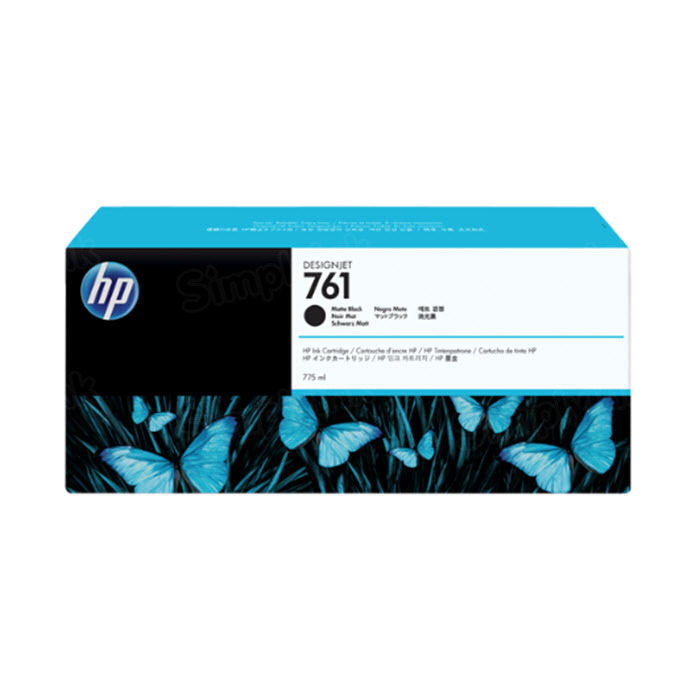 HP 761 Matte Black Original Ink Cartridge CM997A