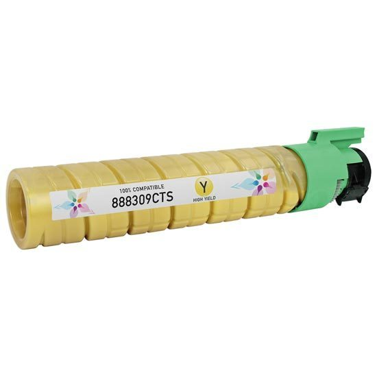 Ricoh Compatible 888309 HY Yellow Toner
