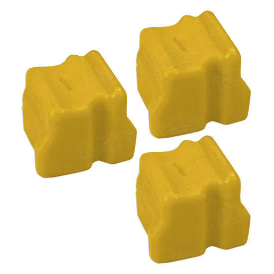 Compatible Xerox 108R00662 Yellow 3-Pack Solid Ink for the WorkCentre C2424