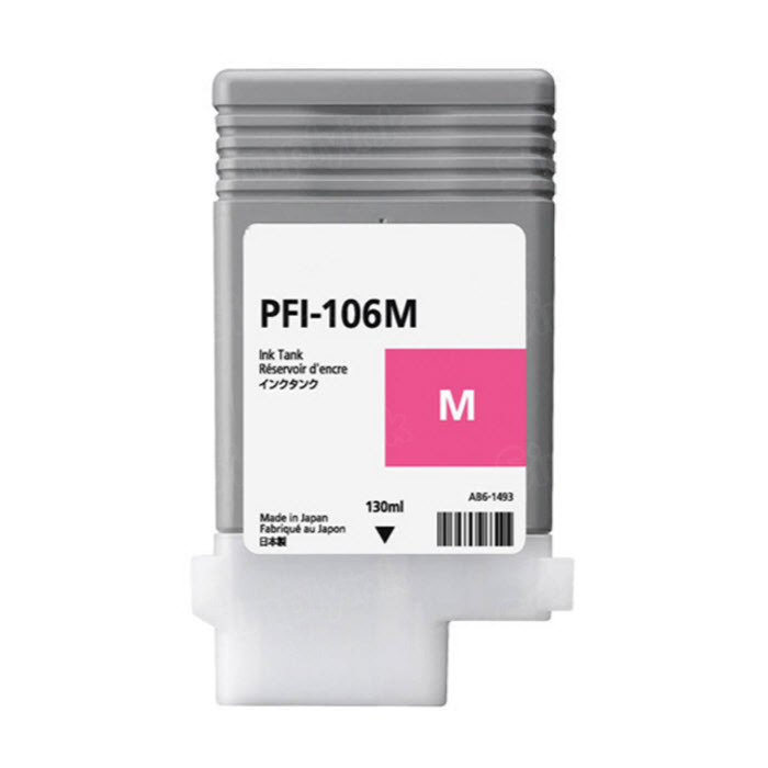 Canon PFI-106M Magenta OEM Ink Cartridge