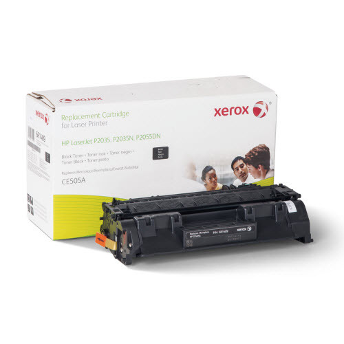 Xerox Remanufactured Black Laser Toner for Hewlett Packard CE505A