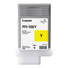Canon PFI-106Y Yellow OEM Ink Cartridge, 6624B001AA