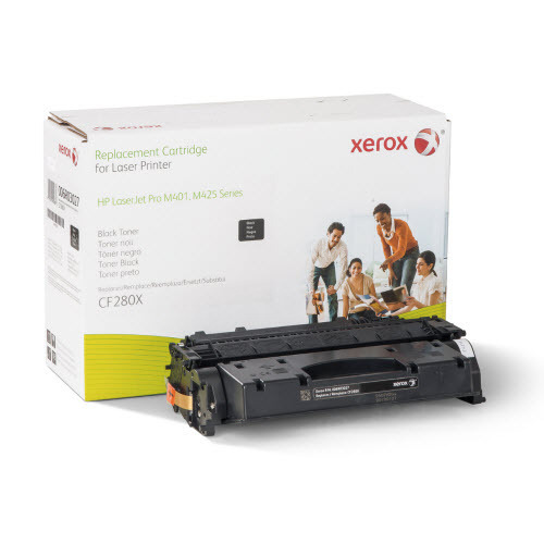 Xerox Remanufactured HY Black Laser Toner for Hewlett Packard CF280X