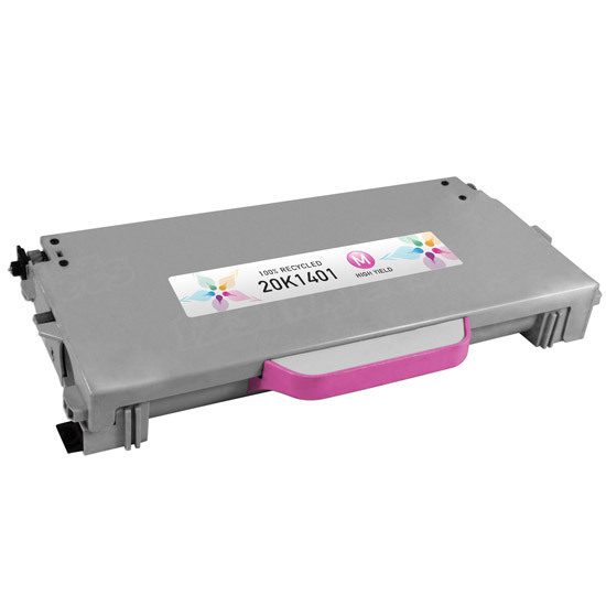 Remanufactured 20K1401 High Yield Magenta Toner for Lexmark