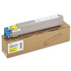 OEM Okidata 43837125 Yellow Toner Cartridge