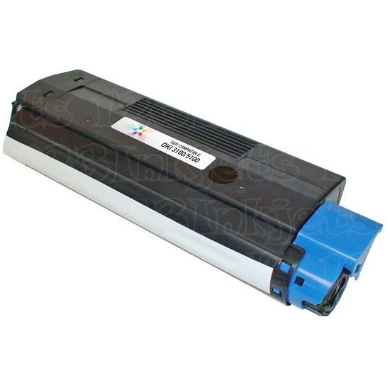 Okidata Compatible 42127403 Cyan Toner Cartridge
