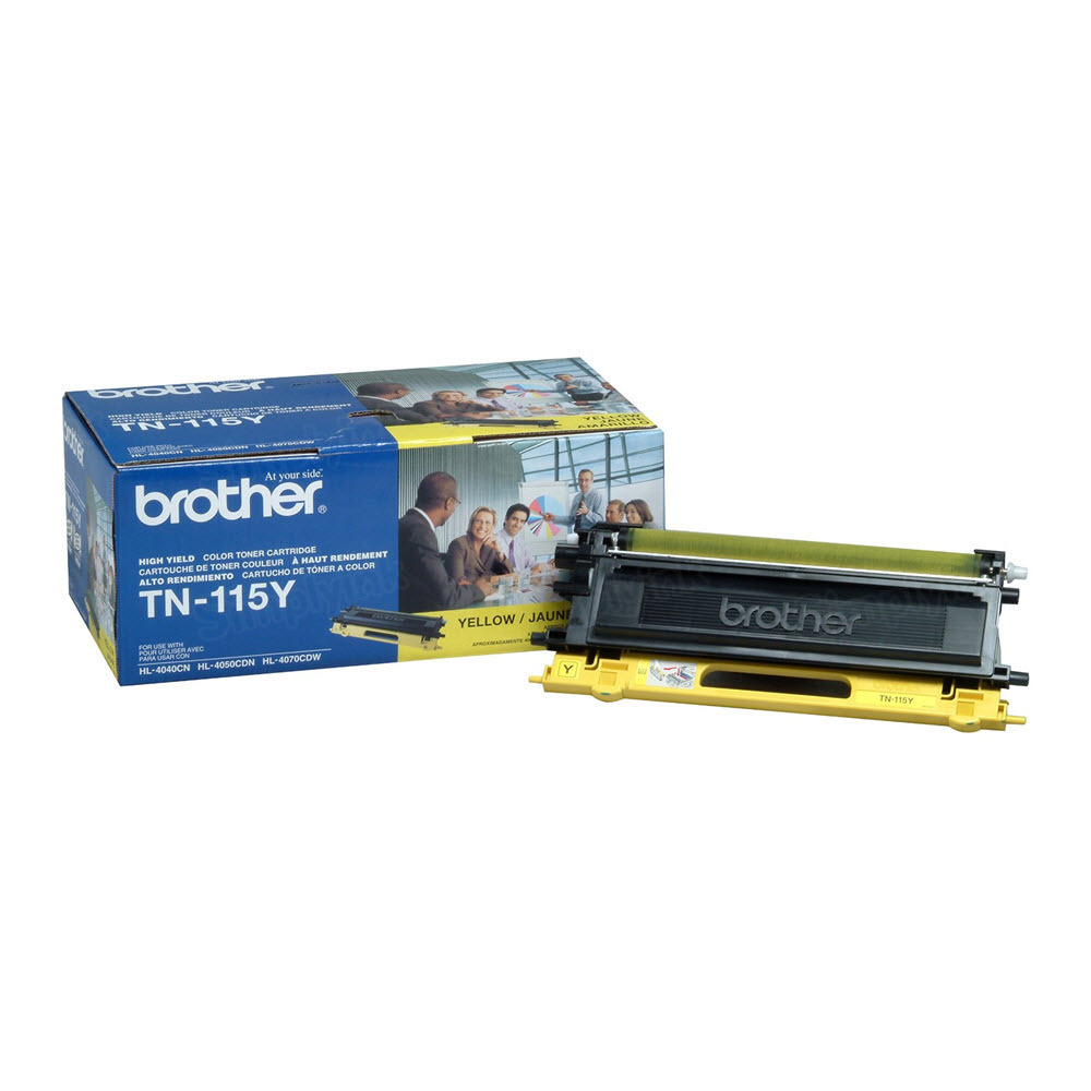 OEM Brother TN115Y HY YellowLaser Toner