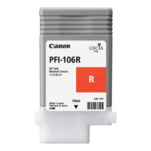 Canon PFI-106R Red OEM Ink Cartridge, 6627B001AA