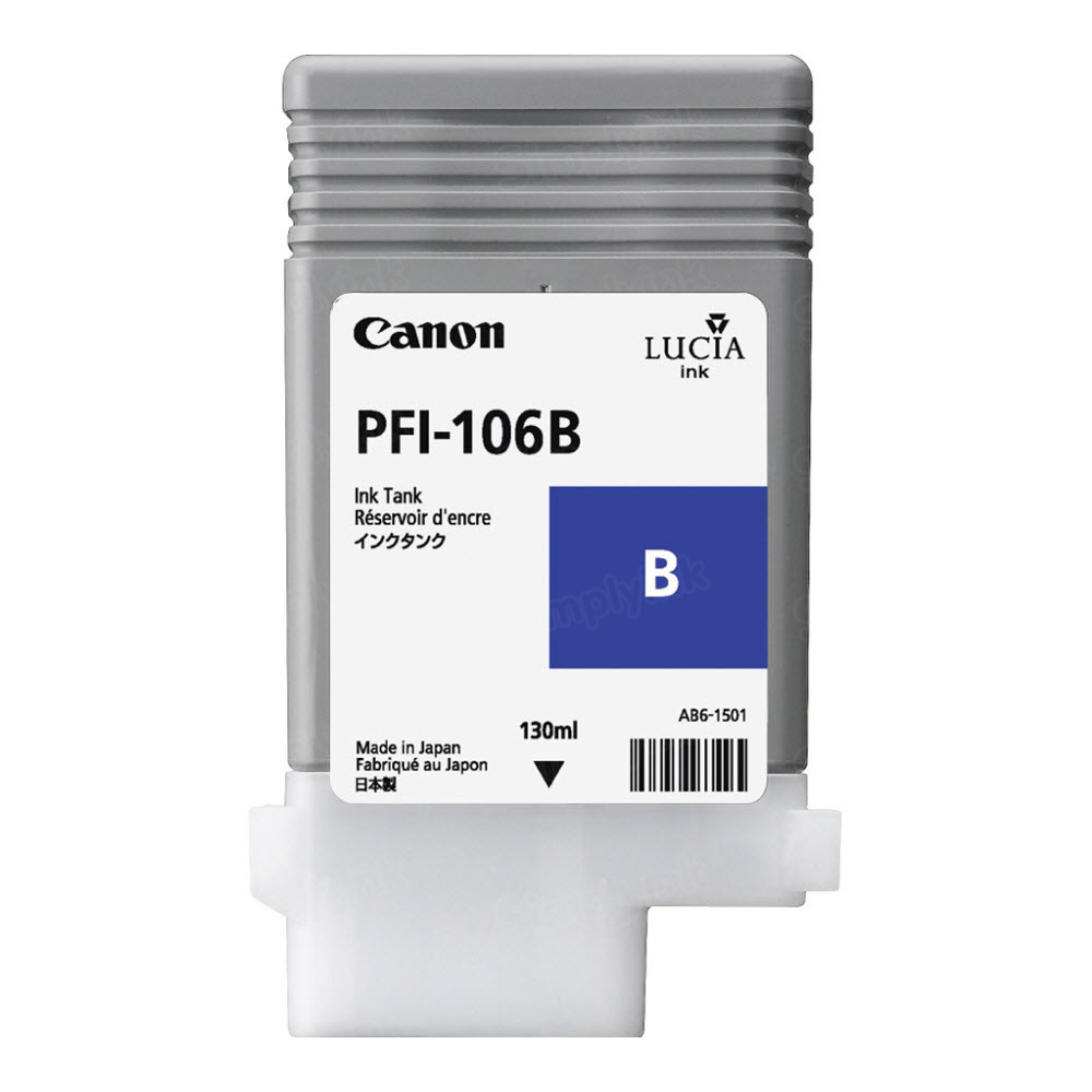 Canon PFI-106B Blue OEM Ink Cartridge