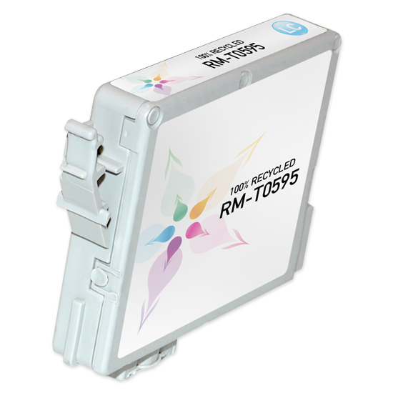 Epson Remanufactured T059520 Light Cyan Inkjet Cartridge for the Stylus Photo R2400