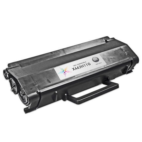 Compatible X463H11G High Yield Black Toner for Lexmark