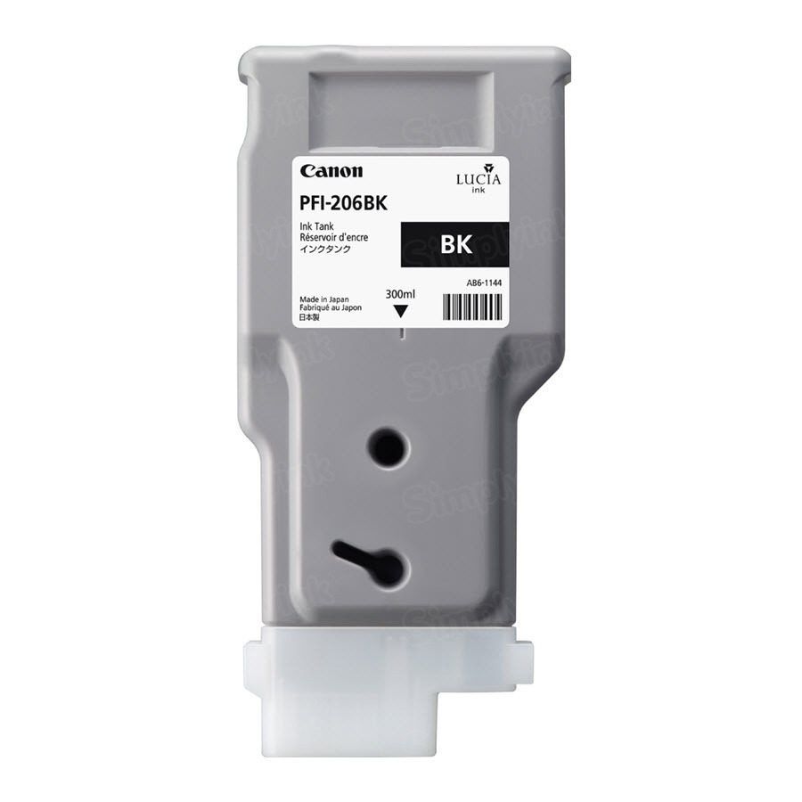 Canon PFI-206BK Black OEM Ink Cartridge