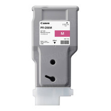Canon PFI-206M Magenta OEM High-Yield Ink Cartridge, 5305B001AA