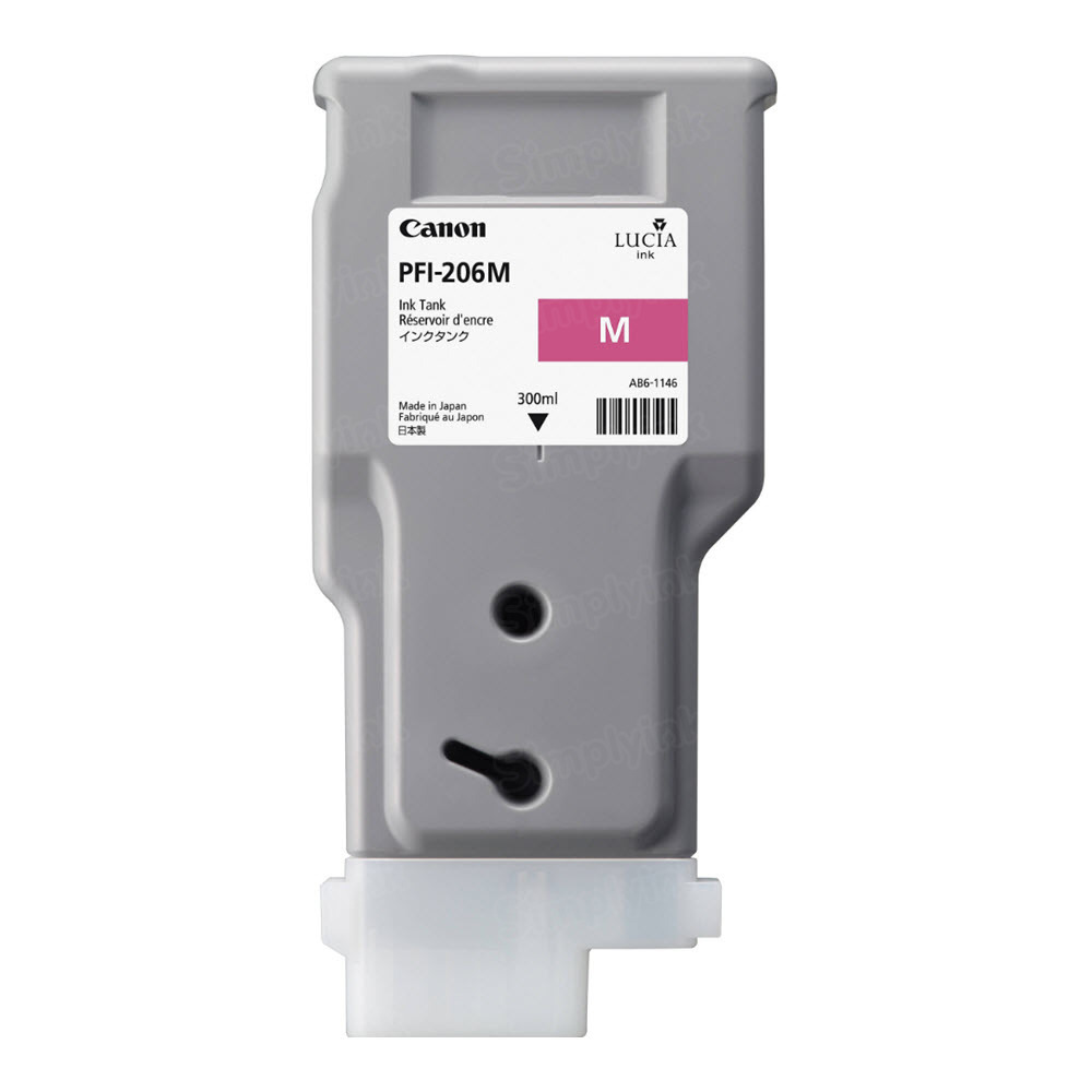 Canon PFI-206M Magenta OEM Ink Cartridge