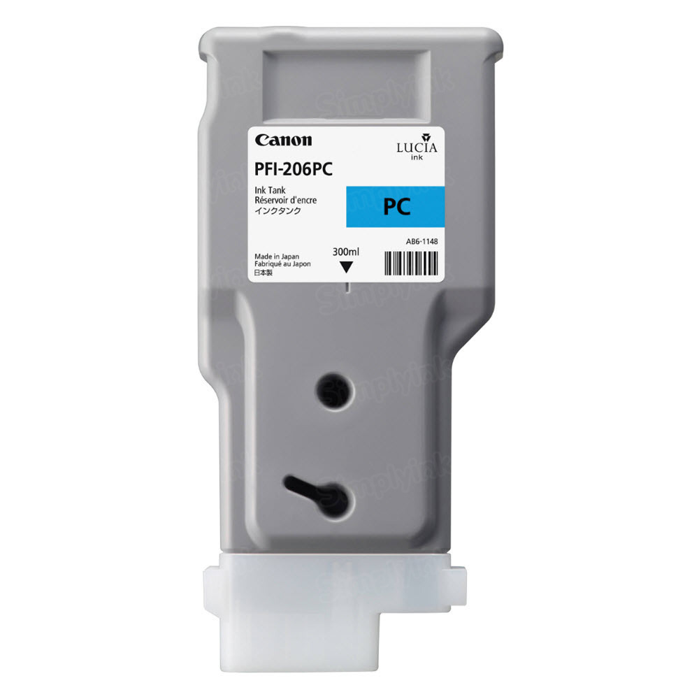 Canon PFI-206PC Photo Cyan OEM Ink Cartridge