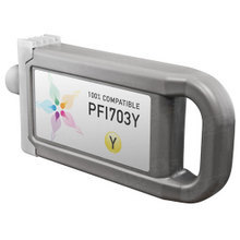 Compatible Canon PFI-703Y Dye Yellow Ink Cartridges