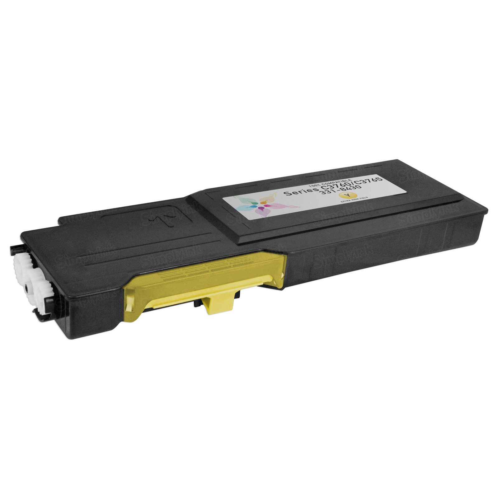 Compatible Alternative for 331-8430 Extra HY Yellow Laser Toner