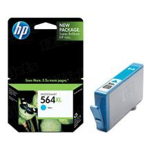 Genuine HP 564XL Cyan Ink Cartridge in Retail Packaging (CB323WN) High-Yield