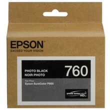 OEM Epson T760120 25.9ml UltraChrome HD Photo Black Ink Cartridge