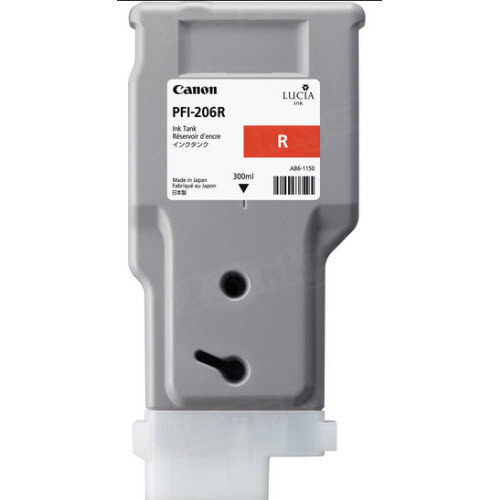 Canon PFI-206R Red OEM Ink Cartridge
