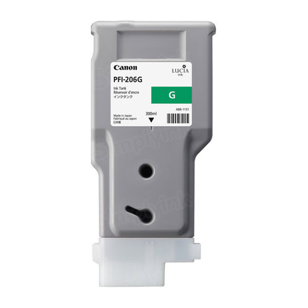 Canon PFI-206G Green OEM Ink Cartridge
