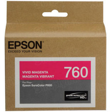 OEM Epson T760320 25.9ml UltraChrome HD Magenta Ink Cartridge