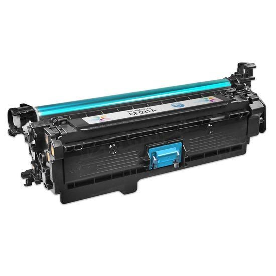 Remanufactured Replacement Cyan Laser Toner for HP 646A